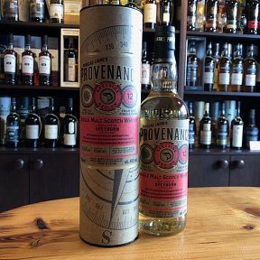Speyburn 12 year old - Provenance